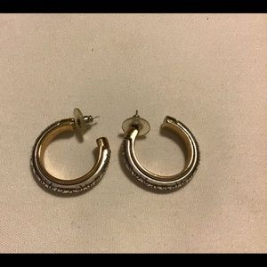 Brighton scrolled earrings